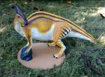 Jurassic Park Parasaurolophus Sculpture