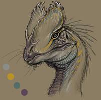 Dilophosaurus 2020 sketch