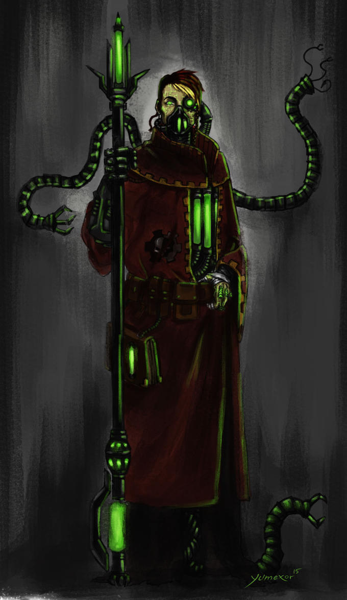 Techpriest ID by Yumexor