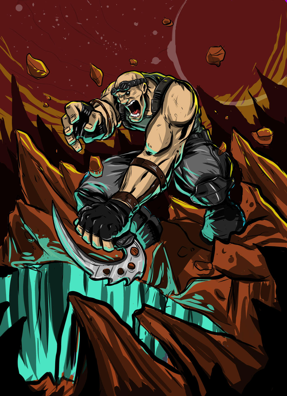 A Riddick kinda thing. by adrianjf