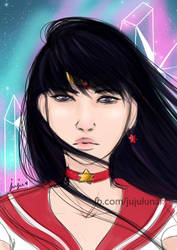 Pretty Soldier Sailor Mars by Juju-Moon