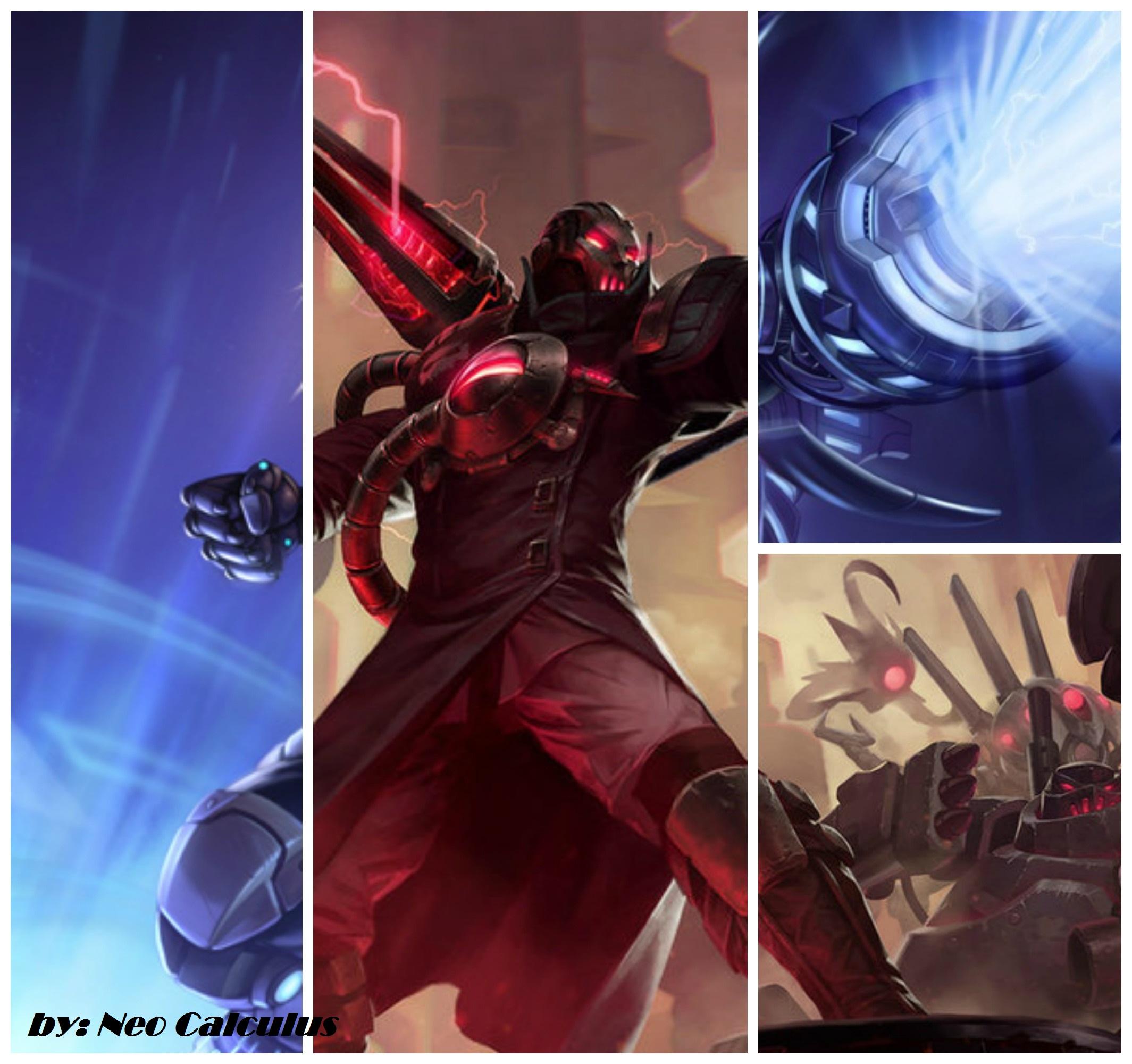 Creator Viktor+Pulsefire Ezreal Splash Art Fusion by ...