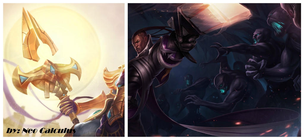 Azir+Lucian Splash Art Fusion by daprospiaii on DeviantArt