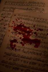 Bloody Notes by ButterfatNinja