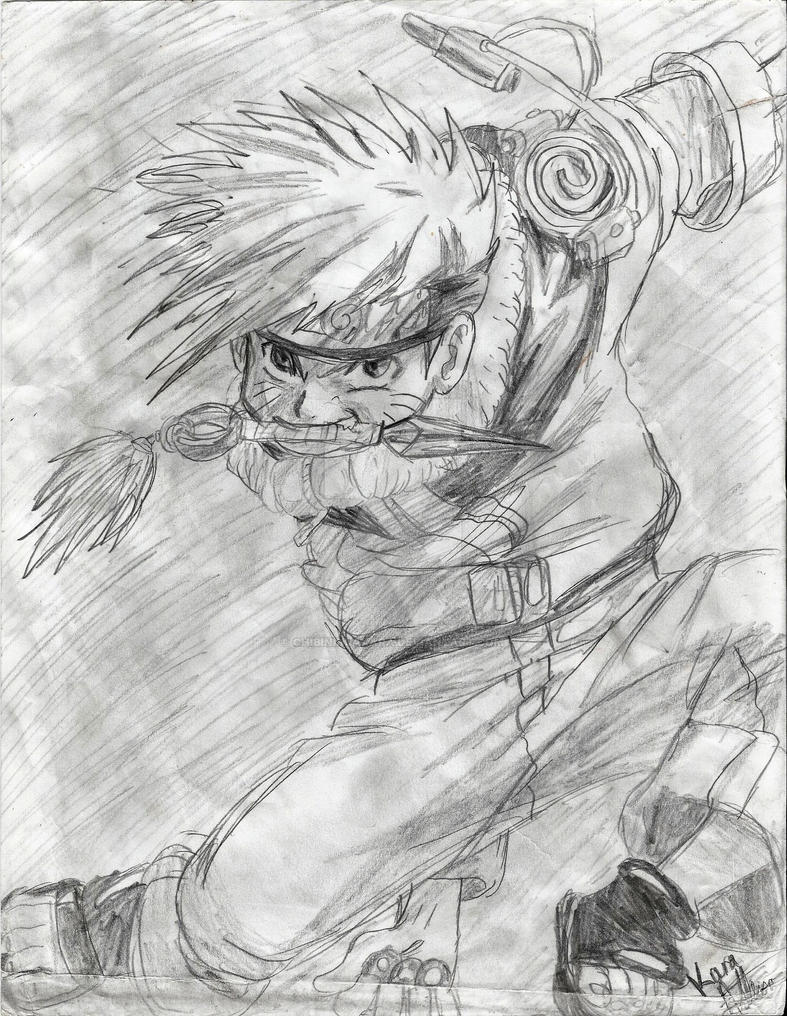Naruto pencil drawing by chibininjakara on deviantart