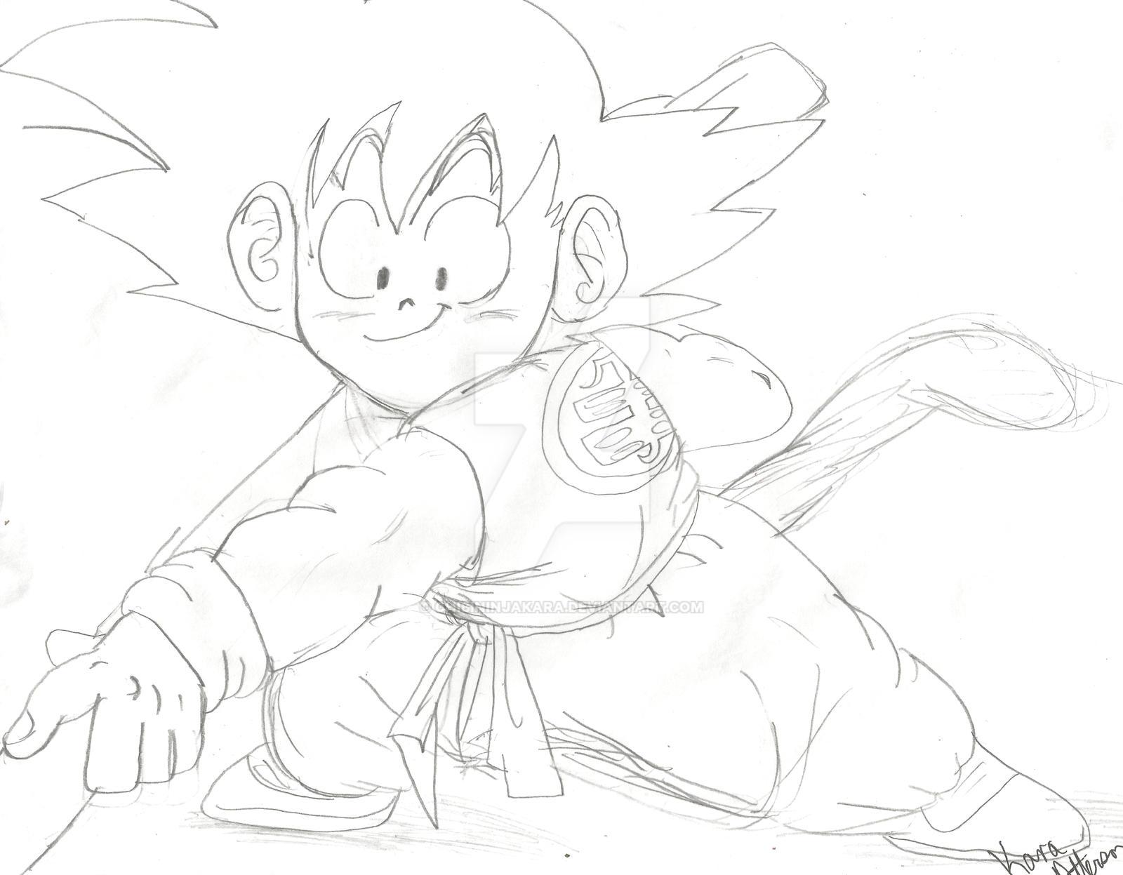 Goku by ChibiNinjaKARA