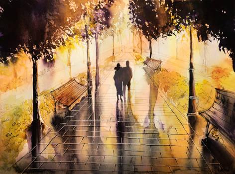 Promenade after the rain
