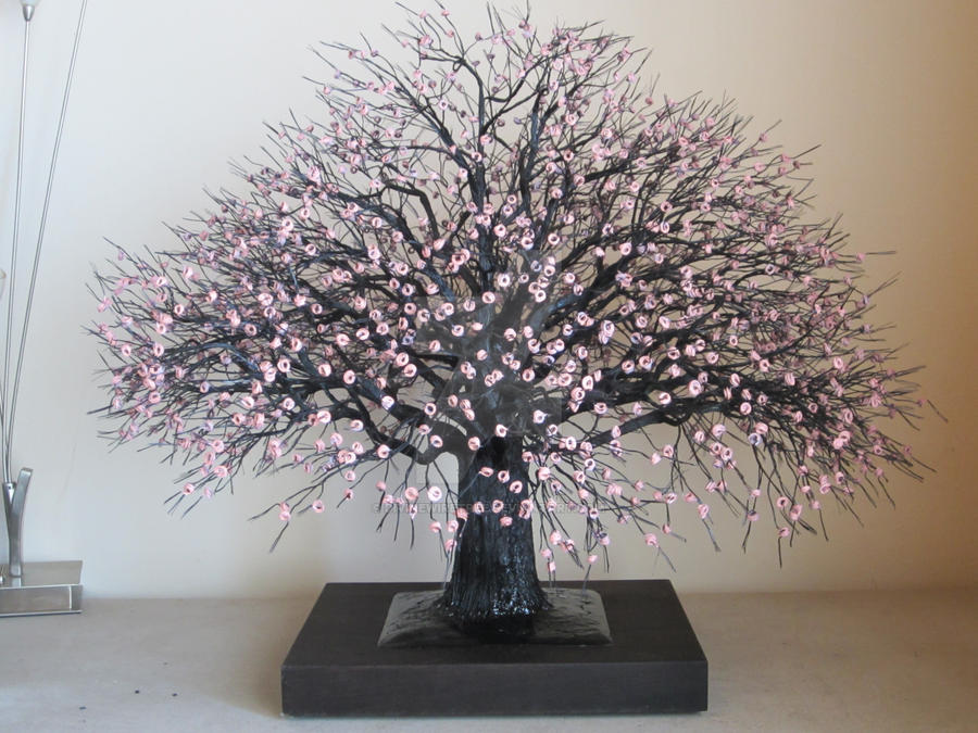 New wire tree by divinewiretree on deviantart for How to make a wire tree of life sculpture