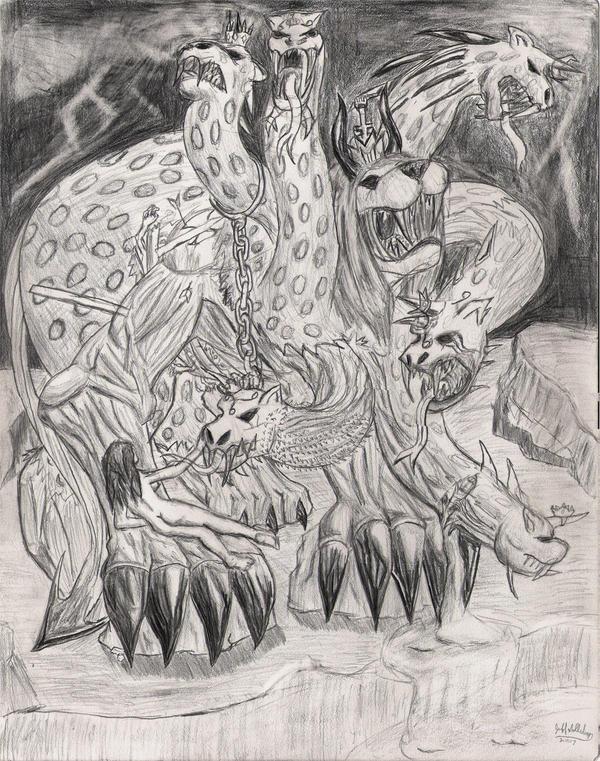 Beast of the Apocalypse by Kitsune-Knight