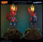 Hellboy presentation shot