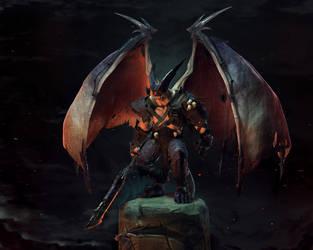 Demon by sanat49