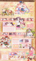 [MAL Layout] Bright As The Star feat Nico Yazawa by Shino-P