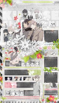 [MAL Layout] Wish For Your Happiness
