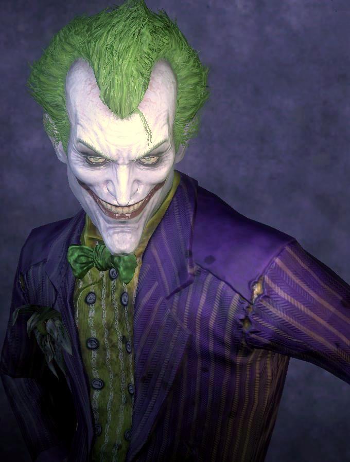 The Joker. Batman Arkham Asylum Game Screencap by ...