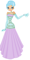 Icebellas Ball gown
