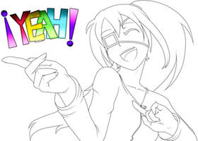 Reiko-san Happy by MaiteRitsuki