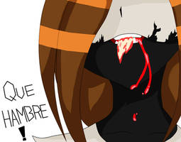 I'm Hungry (LADY Annie Skull) by MaiteRitsuki
