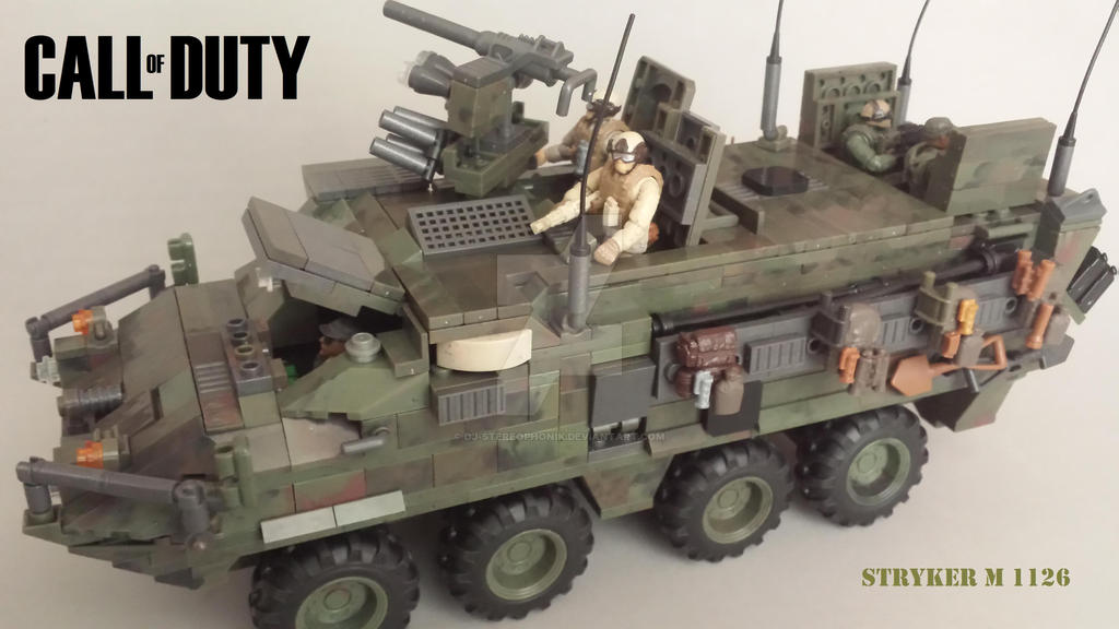 Custom call of duty mega bloks stryker open hatch by dj stereophonik