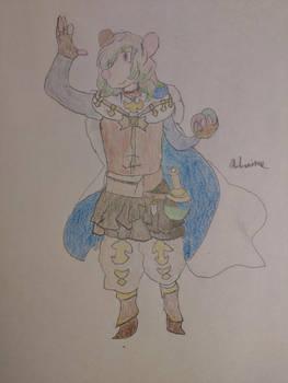 Andronious as Drang from Granblue Fantasy