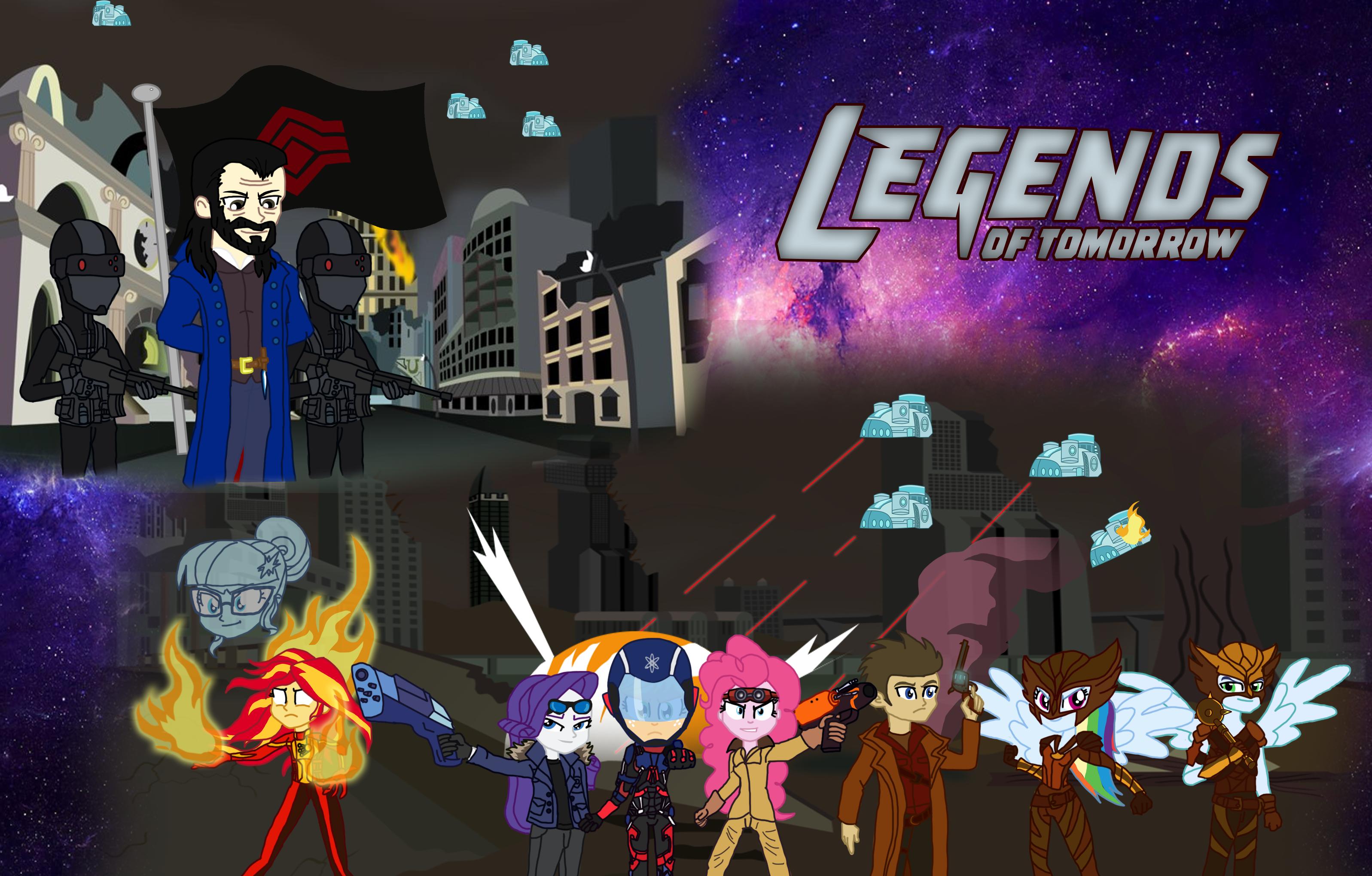 MLP EQG CROSSOVER Legends Of Tomorrow By Deidrax On DeviantArt