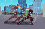 Eqg Justice league The Flash