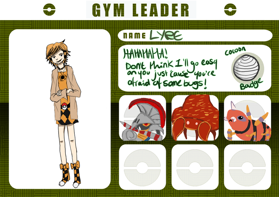 Pokemon Rainbow: Gym Leader Lyre