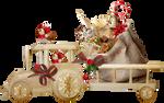 Christmas train PNG