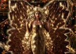 Golden winged angel