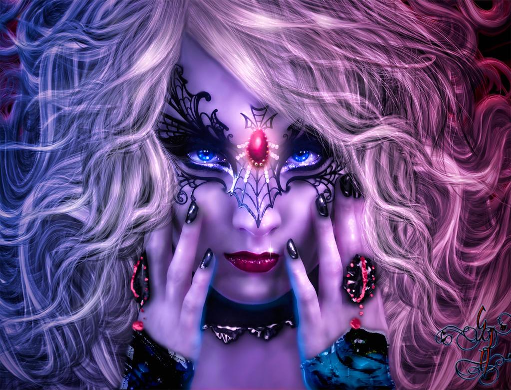 Carnival Vamp Girl by Sinphie