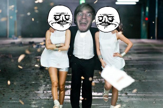 PewDie Gangnam Style 2 by CheddaJack