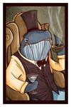 Classhole Series - Dapper Whale by deniscaron