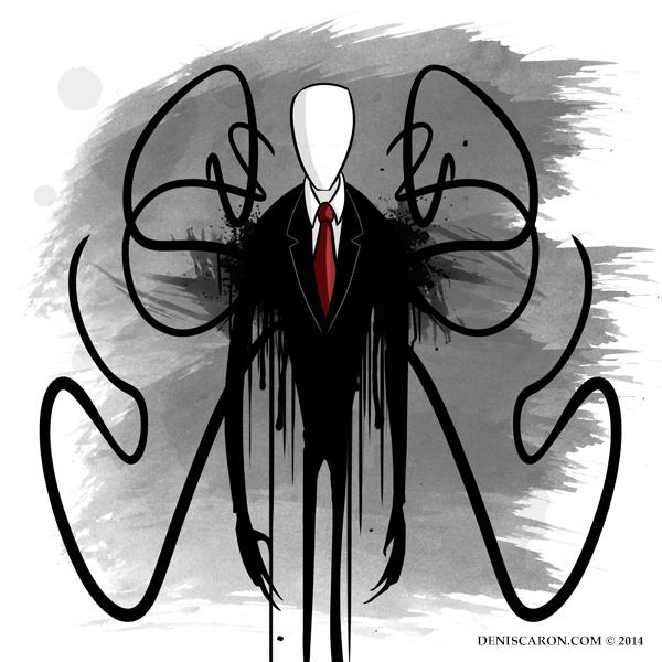 Slender Man - 0111 - Unconscious Ink [ui] by deniscaron