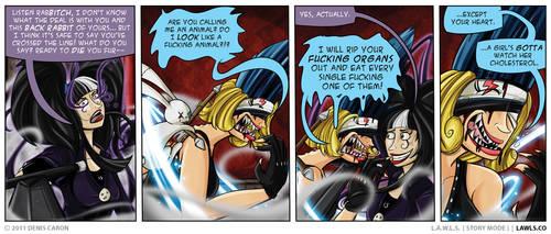 LAWLS Comic - 0189 - Fame Monster by deniscaron
