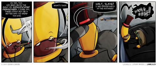 LAWLS Comic - 0191 - Sophisticated Debauchery by deniscaron