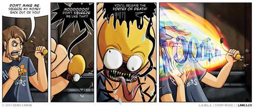 LAWLS Comic - 0193 - Vortexual by deniscaron
