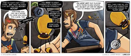 LAWLS Comic - 0196 - No0BeRY by deniscaron