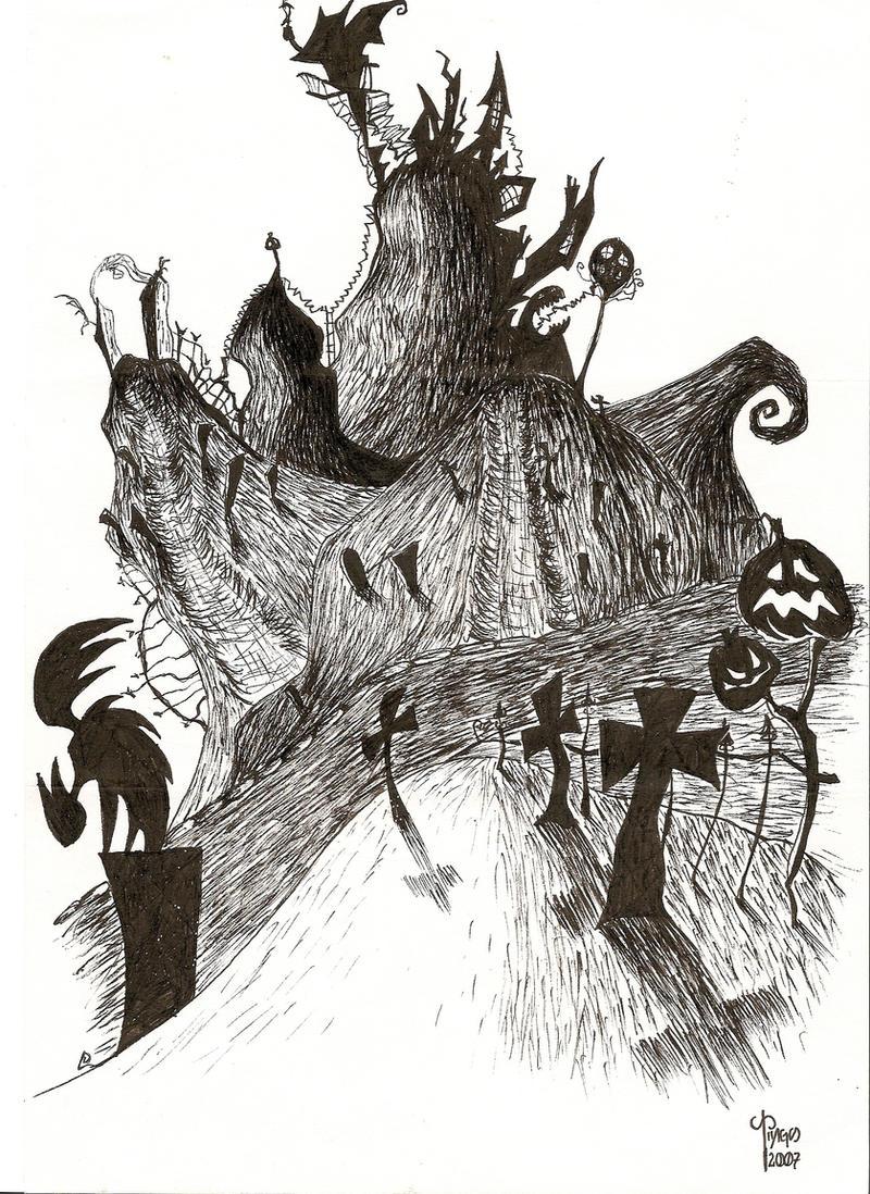 Nightmare Before Christmas by Oriebir