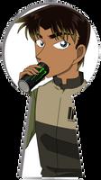 Codename:900hrs (Hattori Heiji) Keyhole by SakuraMaiden1993