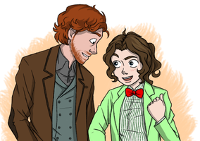 DW Regenerated and the Lady Doctor by SakuraMaiden1993