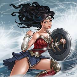 Wonder Woman Fan Art by clemper