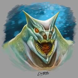Reptile alien by clemper
