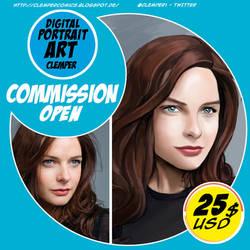 Digital Portrait Art Clemper by clemper