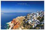 Postcard from Santorini by ZephonSoul