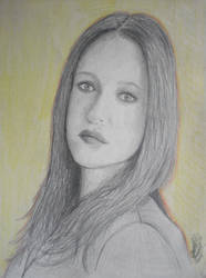 Gillian Anderson by DanaMitzy