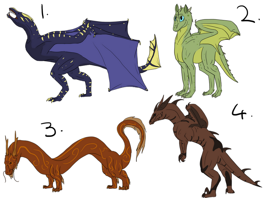 Adoptables-Closed by 768dragon