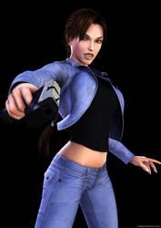 Lara Croft 87 by Nicobass