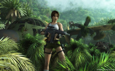 Lara Croft 88 by Nicobass