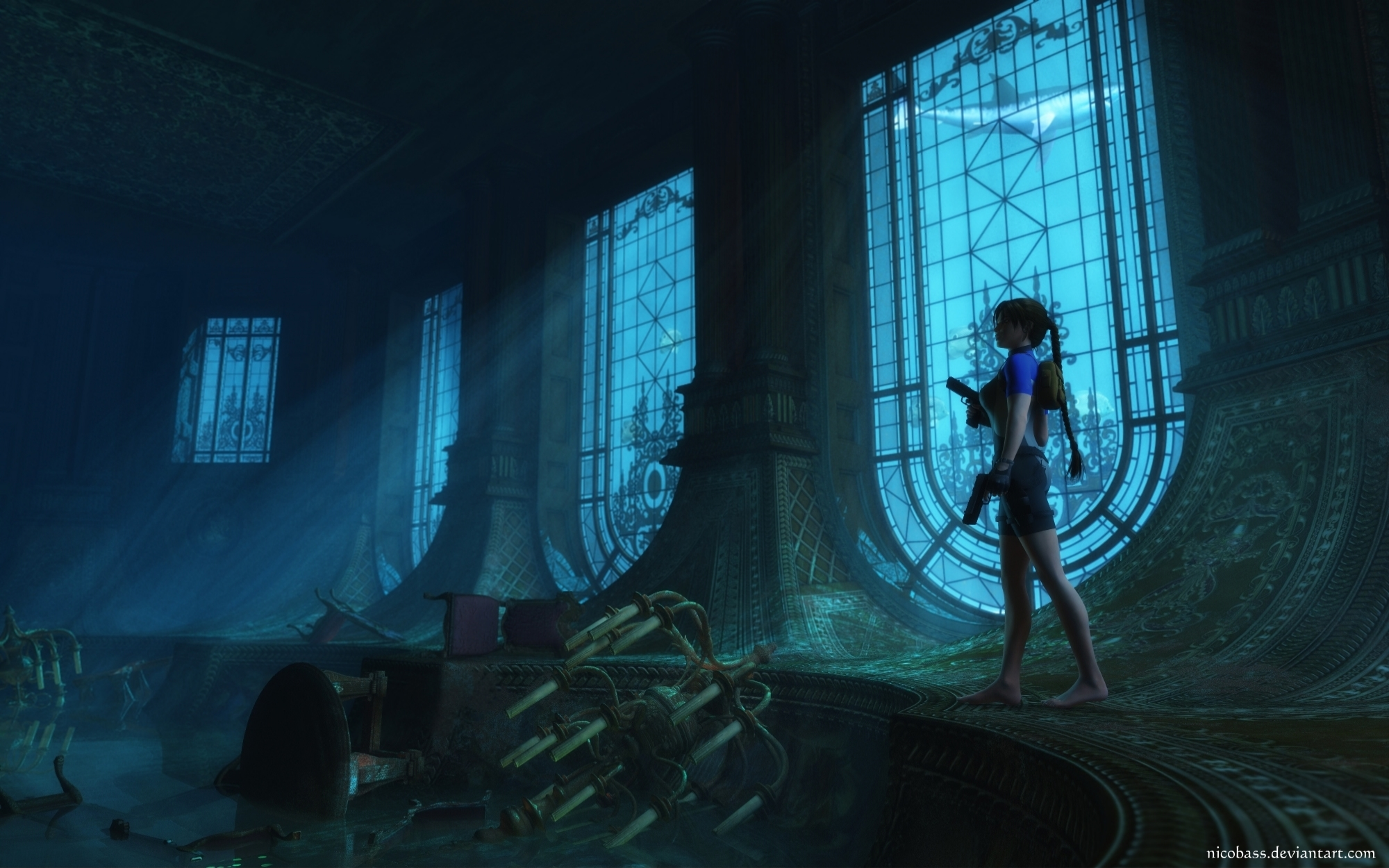 Lara Croft 89 by Nicobass