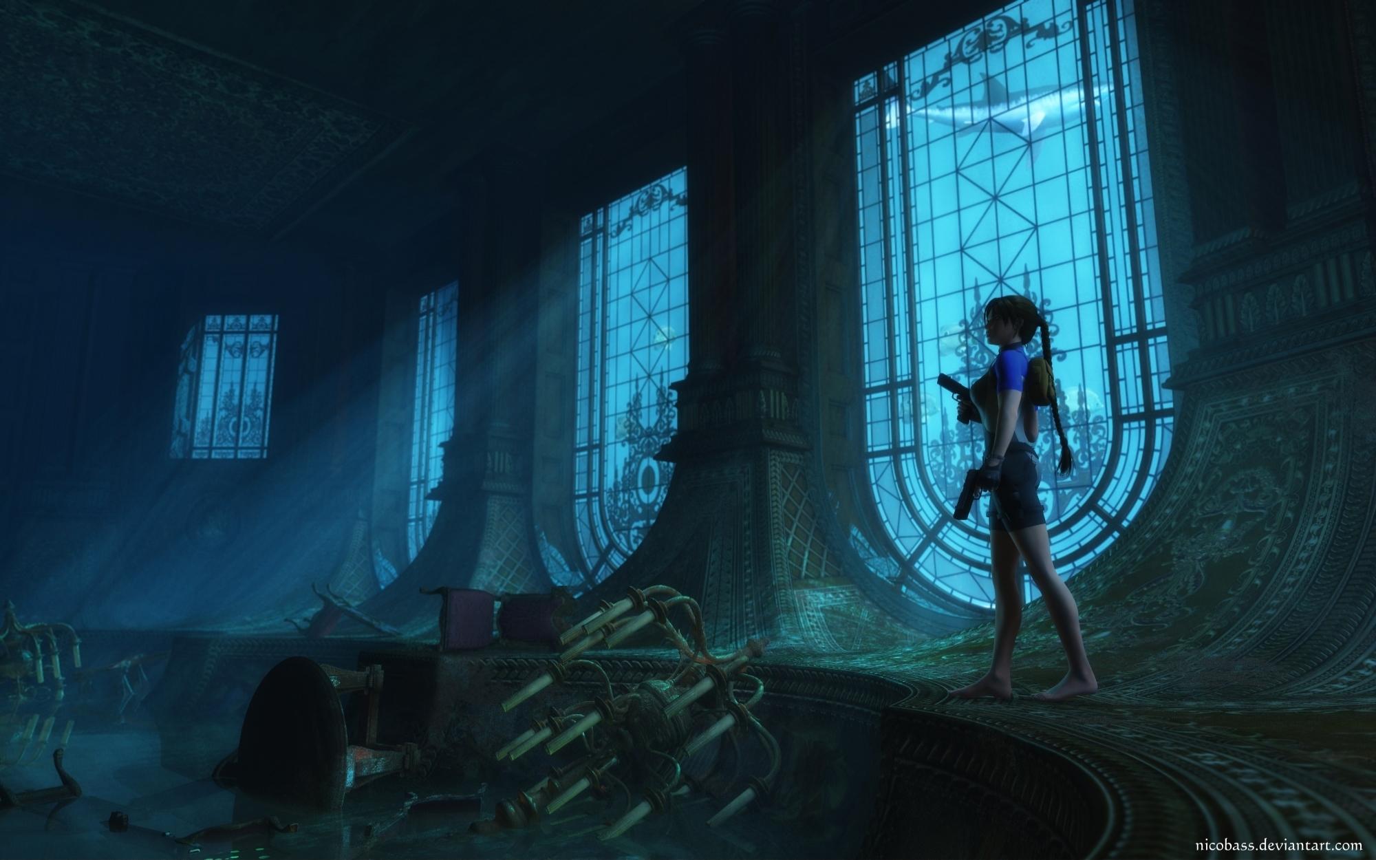 Wreck Of Maria Doria Tomb Raider 2 By Nicobass Tombraider