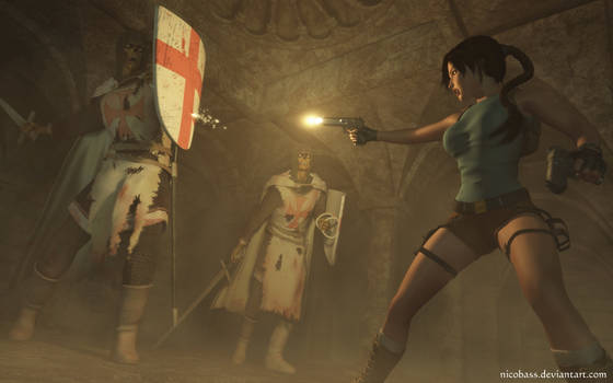 Lara Croft 91 by Nicobass